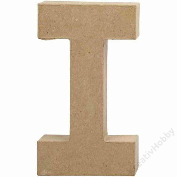 "Papírmasé betű, nagy ""I"""