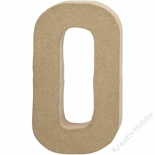 Papírmasé betű, nagy