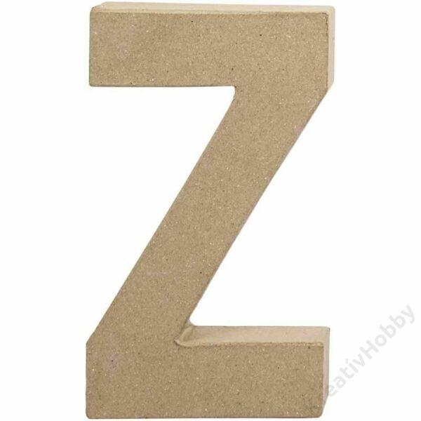 """Papírmasé betű, nagy """"Z"""""""