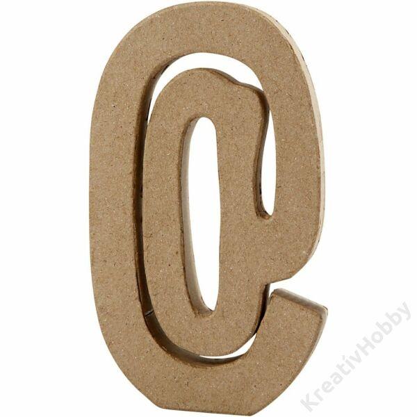"""Papírmasé betű, nagy """"@"""""""