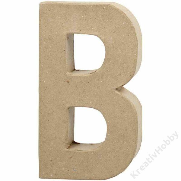 Papírmasé betű, kics