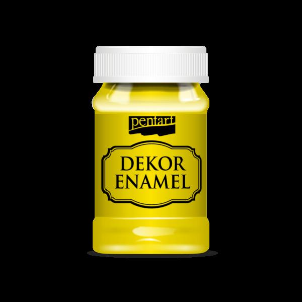 Dekor Zománcfesték 100 ml sárga