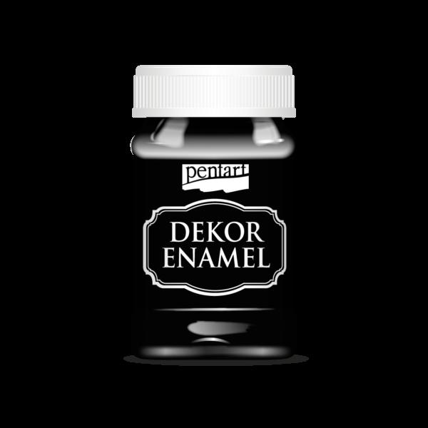 Dekor Zománcfesték 100 ml fekete
