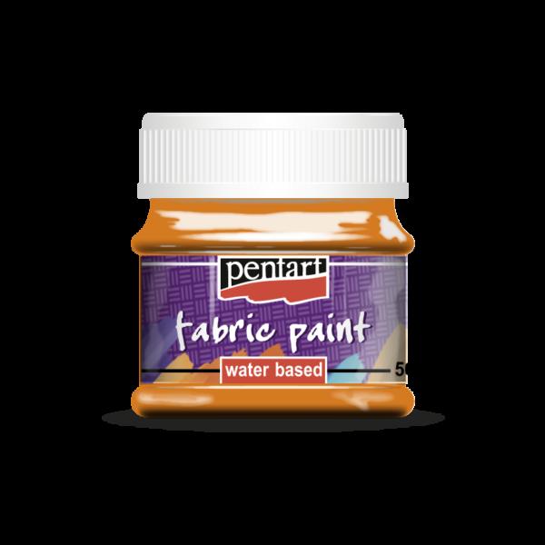Pentart textilfesték 50ml, Narancs