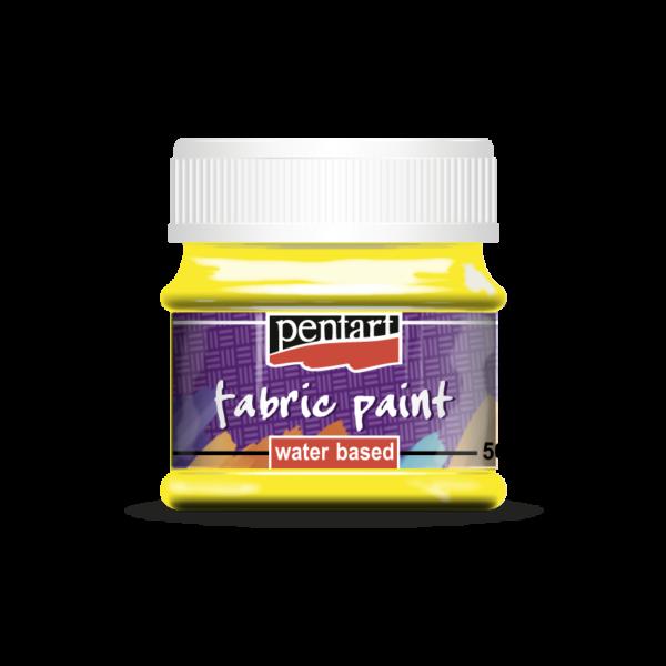 Textilfesték 50 ml sárga