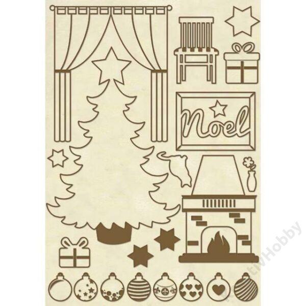 Fa figura - A5 - Karácsony