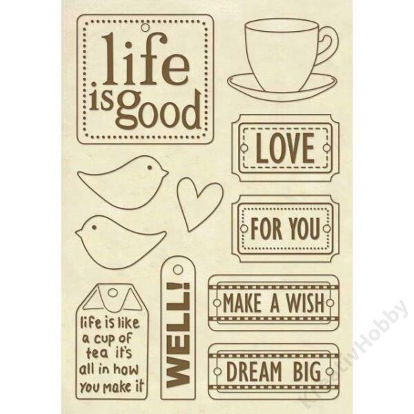 """Fa figura - A5 - """"Life is good"""""""