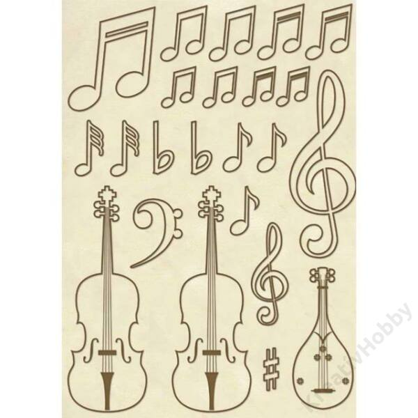 Fa figura - A5 - Hegedűk