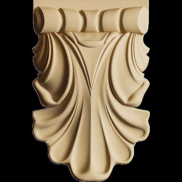 Hőre lágyuló fa KR 0245 csepp 4,1 x 6,6 x 1,3 cm