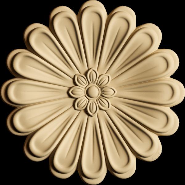 Hőre lágyuló fa RZ 0950 virág kör 5 cm