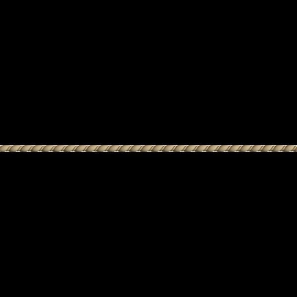 Hőre lágyuló fa MDM 0111 csavart csík 1,1 x 100 cm