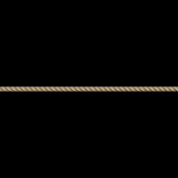 Hőre lágyuló fa MDM 0116 csavart csík 1,6 x 100 cm