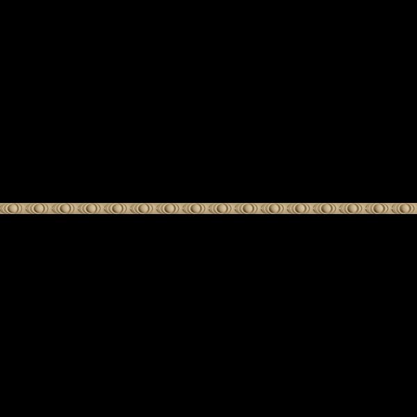 Hőre lágyuló fa MD 0719 bogyómintás csík 1,9 x 100 cm