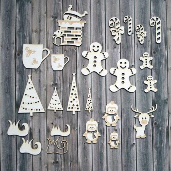 Chipboard - Bohókás karácsony