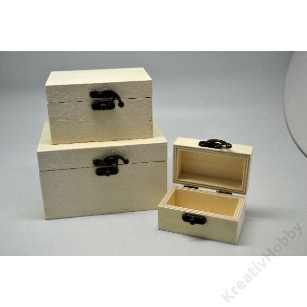 Fa doboz szett 3 részes