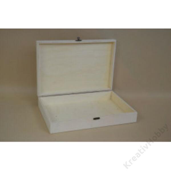 Fa doboz, óriás 31,5x22x6cm