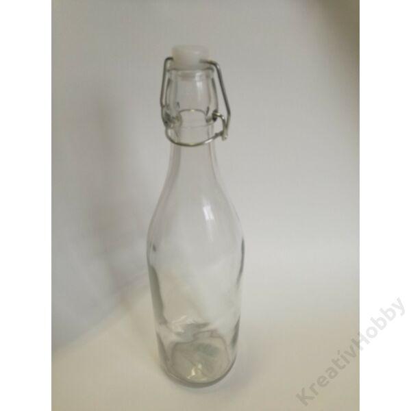 Bambis üveg 980ml, patentzáras