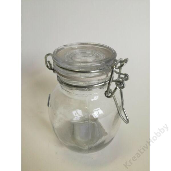 Üveg, patentzáras 1,3dl HASAS