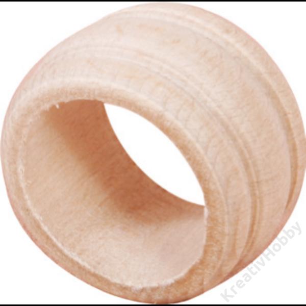 Fa szalvétagyűrű
