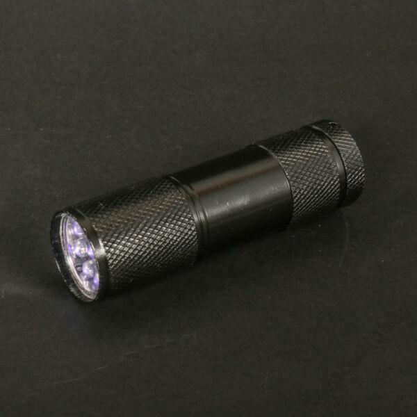 UV zseblámpa 9 LED-es