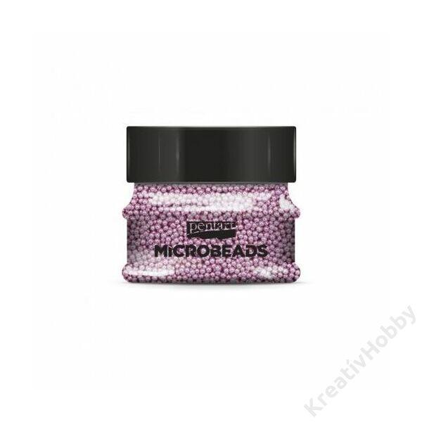 Szórógyöngy 0,8-1 mm 40 g pink