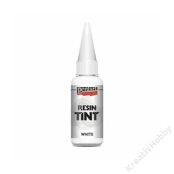 Gyantaszínező tinta 20ml fehér