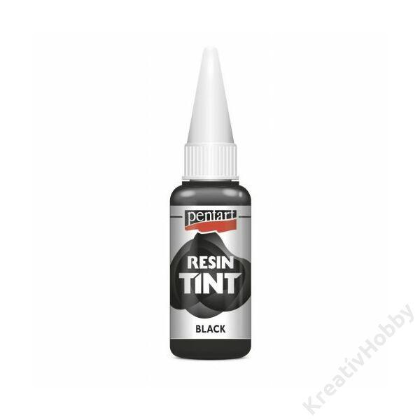 Gyantaszínező tinta 20ml fekete