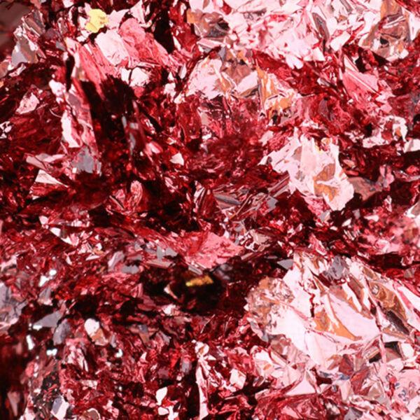 Színes fólia pehely 100 ml, pink