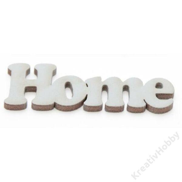 Home (fehér)14*4cm