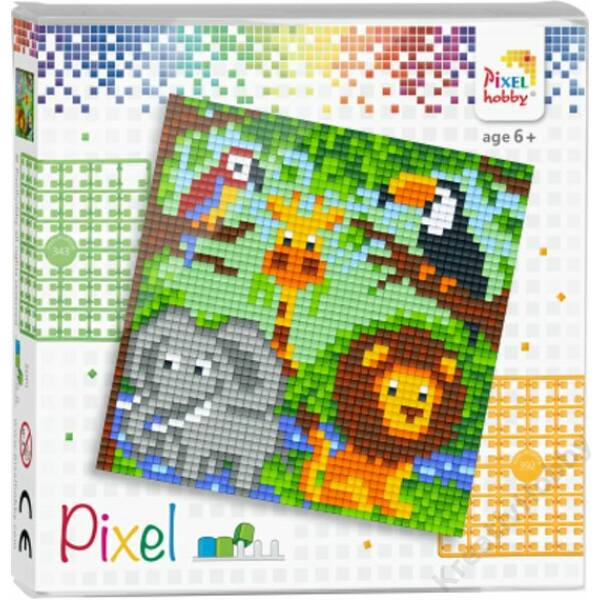 Pixel szett 1 alaplapos - Állatkert
