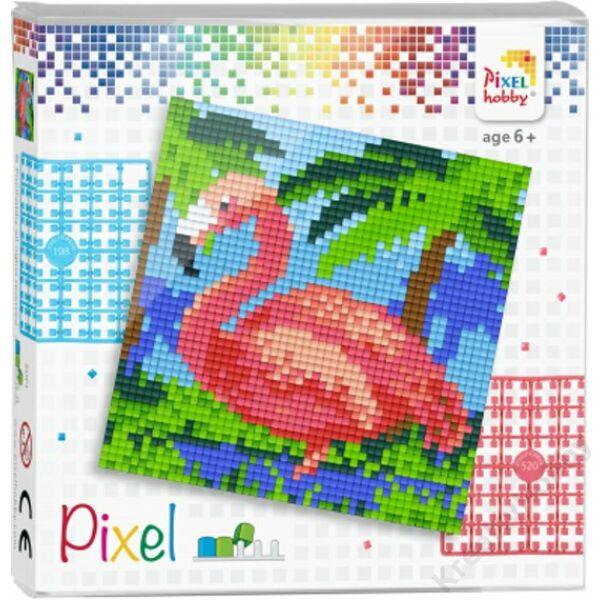 Pixel szett 1 alaplapos - Flamingó