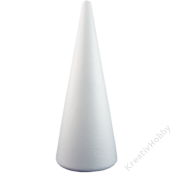 Polisztirol kúp 7 x 12,5 cm