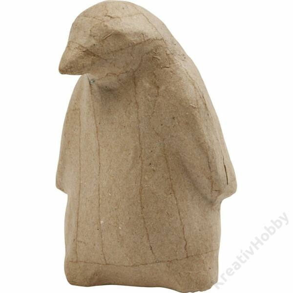 Papírmasé figura, Pingvin, 13,5cm