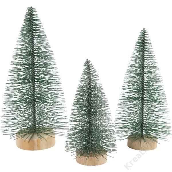 Mini fenyőfák 3 méret 10-13-14cm