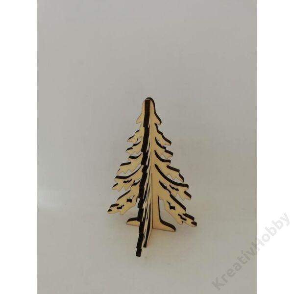Összerakható karácsonyfa fából12cm