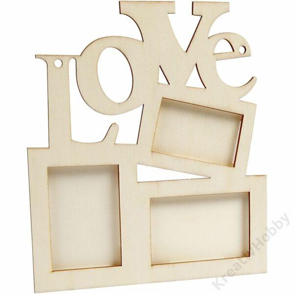 Fa képkeret, Love