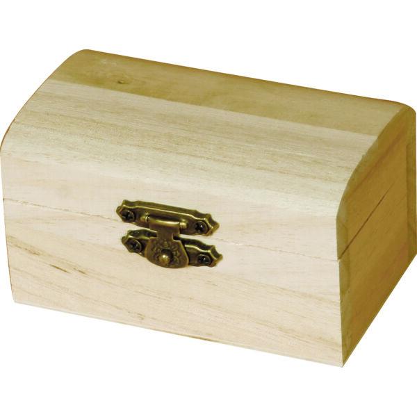 Minidoboz, kincsesláda 9 x 4,7 x 5,5 cm