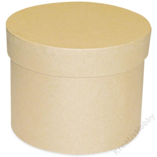 Kerek doboz, 10x8 cm