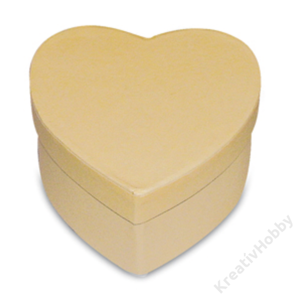 Szív doboz 8x8x4,5 cm