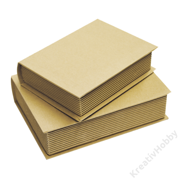 Könyv formájú doboz, nagy