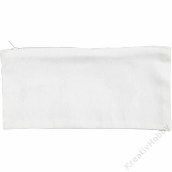 Tolltartó fehér 11x23 cm