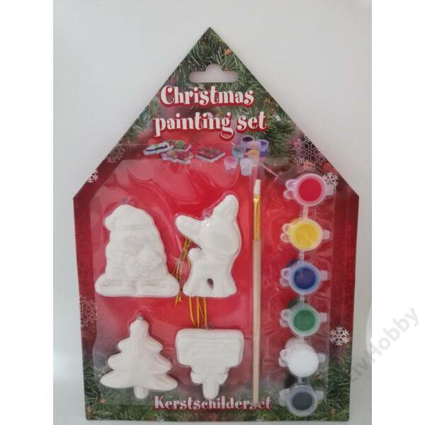 Karácsonyi kifestő,Őzike