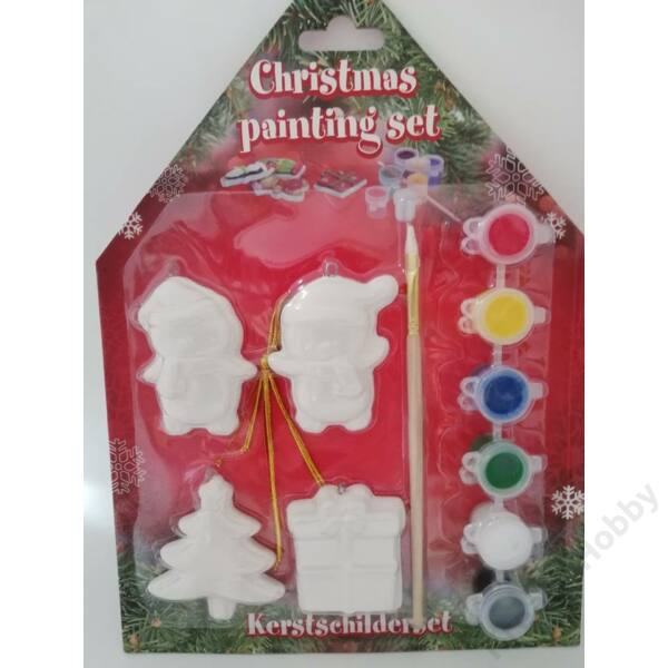 Karácsonyi kifestő,Pingvines