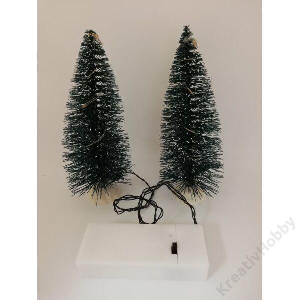Ledes karácsonyfa 15cm, 2db/cs