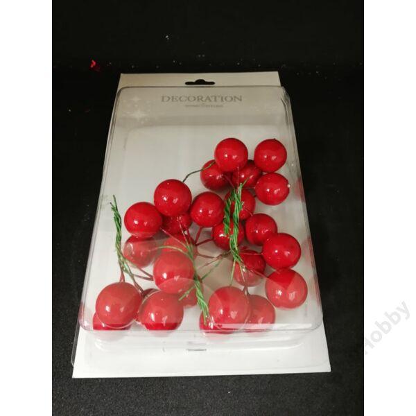 Karácsonyi termés, piros