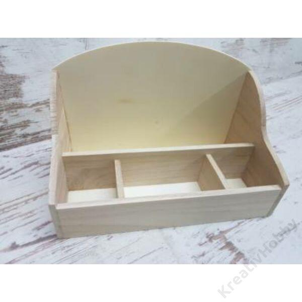 """Asztali """"mindentbele"""" tároló doboz 26*14*17CM"""