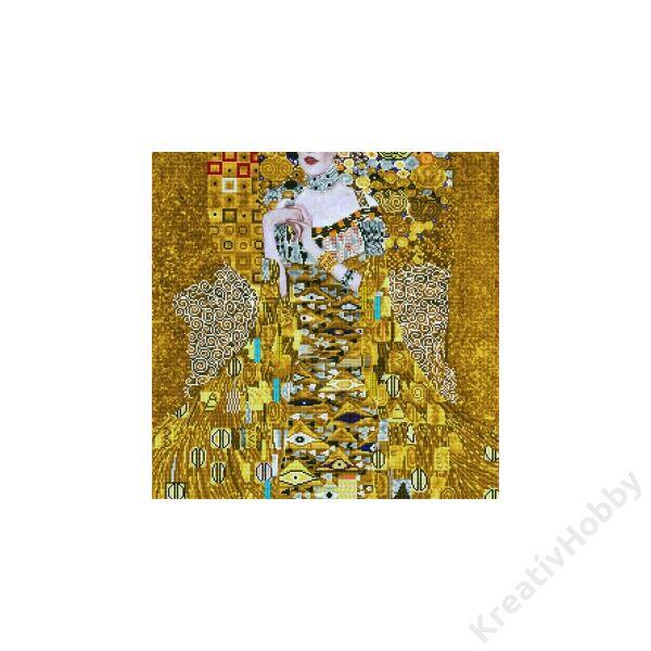 Klimt: Nő aranyban 75*99cmteljesen kirakható