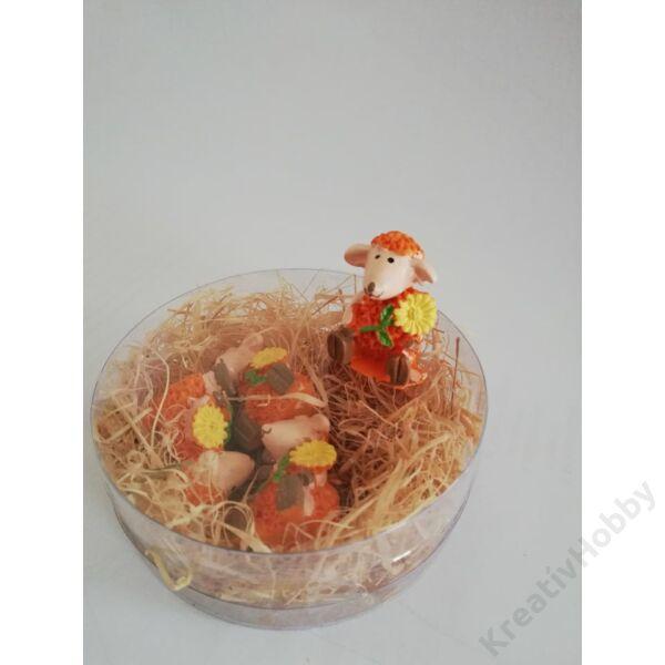 Bárány polly,narancs 4db/cs