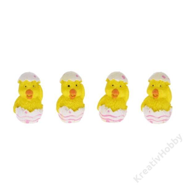 Csibe tojásban,Polly 4db/cs