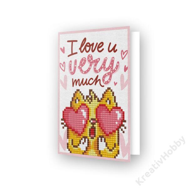 DD Greeting Card LOVE YOU